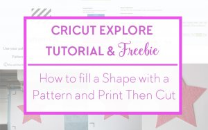 Fill pattern and Print Then Cut - Cricut Design Space Featured Listing cover