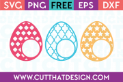 free easter monogram designs