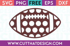 Free football svg file