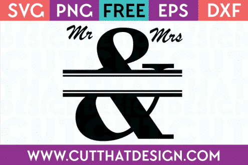 free wedding svg cut files