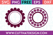Cut That Design Polka Dot Circle Frame Designs