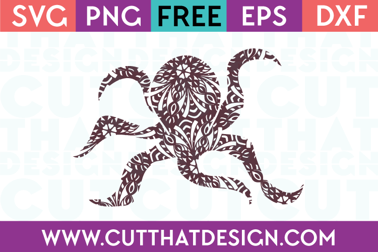 Ocotopus SVG Cutting File