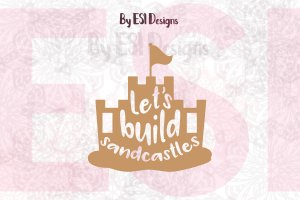 Sandcastle SVG File