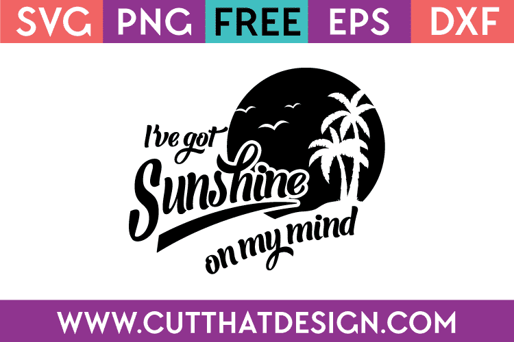 Free beach theme svg files