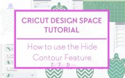 Contour feature cricut design space