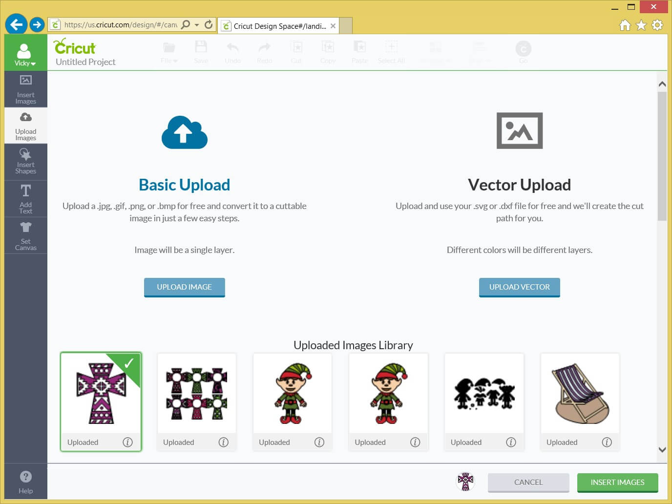 Cricut SVG File tutorial