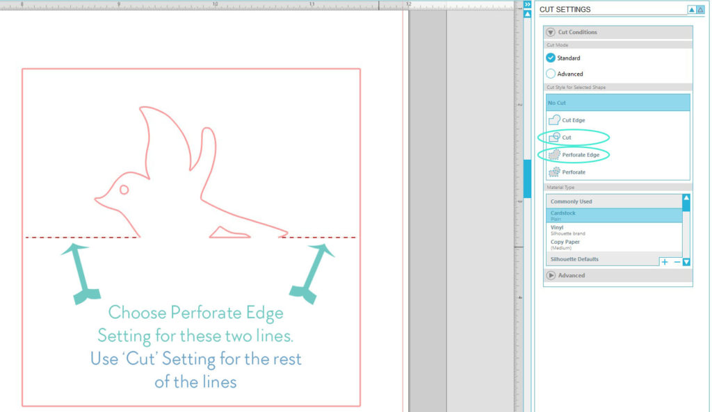 Design a Pop up Tent Style Place Card in Silhouette Studio