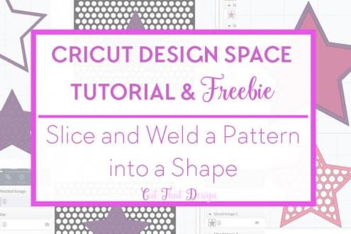 Cricut Design Space tutorial and Free svg cutting file