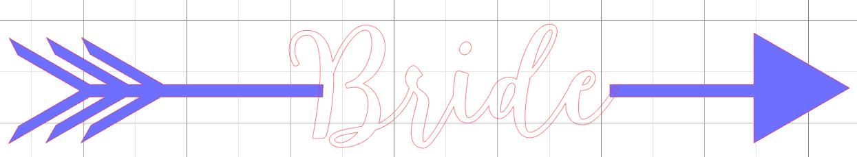 Draw an arrow in Sil Studio - adding word to arrow 3 adjust