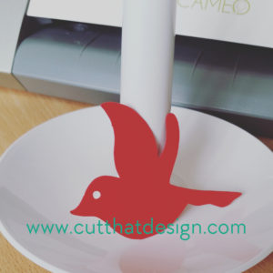 Silhouette cardstock cutting