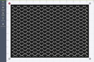 1, open pattern