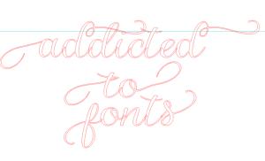 Silhouette studio font guide