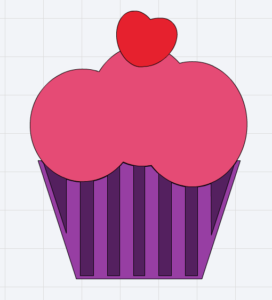 Free cupcake cutting file