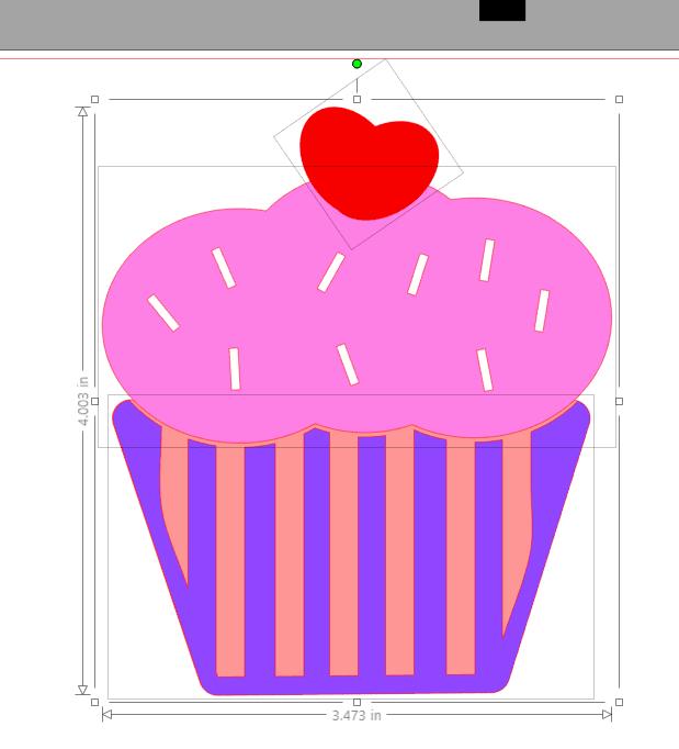Cupcake design tutorial silhouette studio