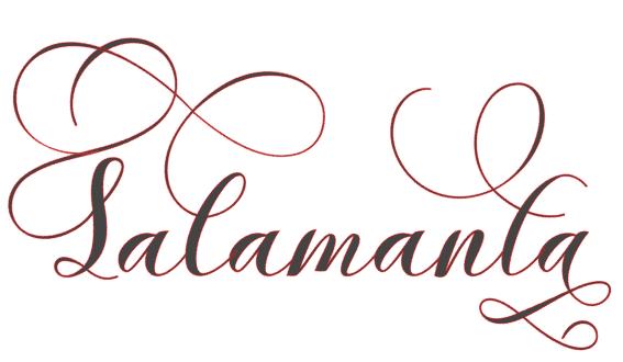 Salamanta font hungry JPEG bundle
