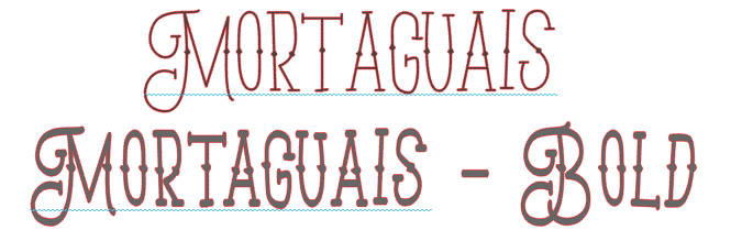 Mortaguais font from the hungry jpeg svg