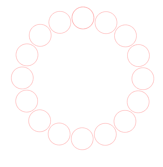 Polka dot monogram svg free