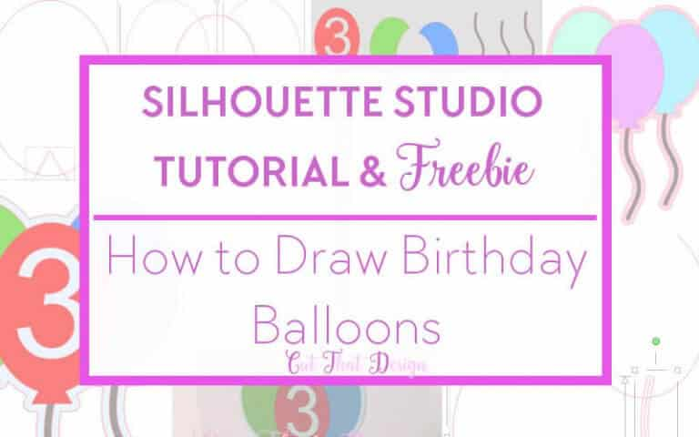 SVG cutting files and tutorials silhouette