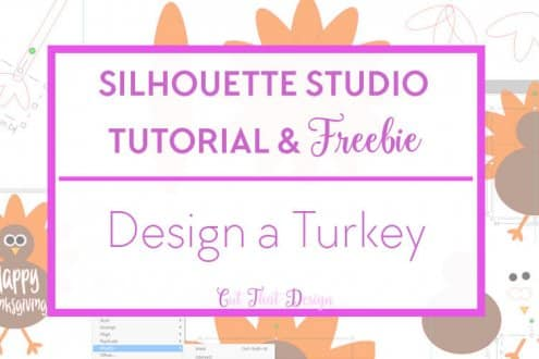 Turkey, thanksgiving silhouete cameo tutorial and free svg