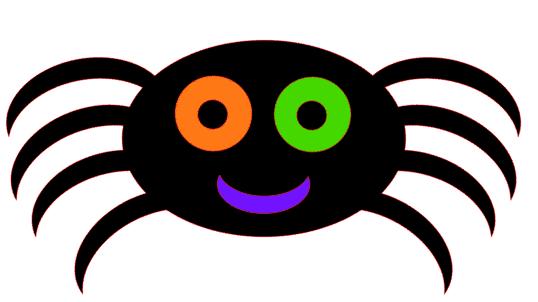 Halloween spider cutting file free