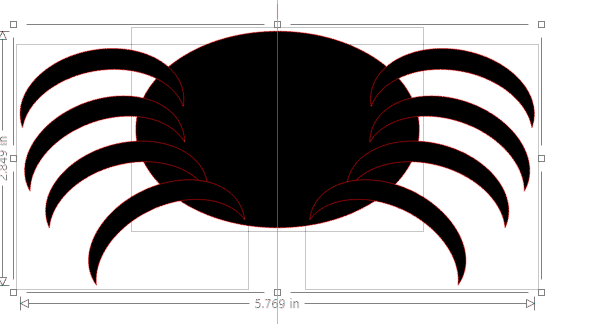 free spider svg cutting files