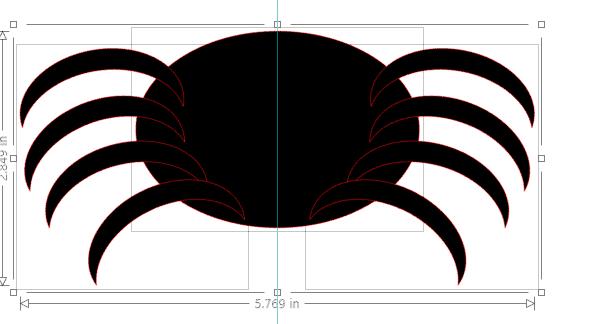 free spider svg cutting files