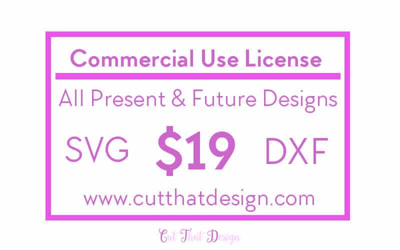 svg cutting files commercial use