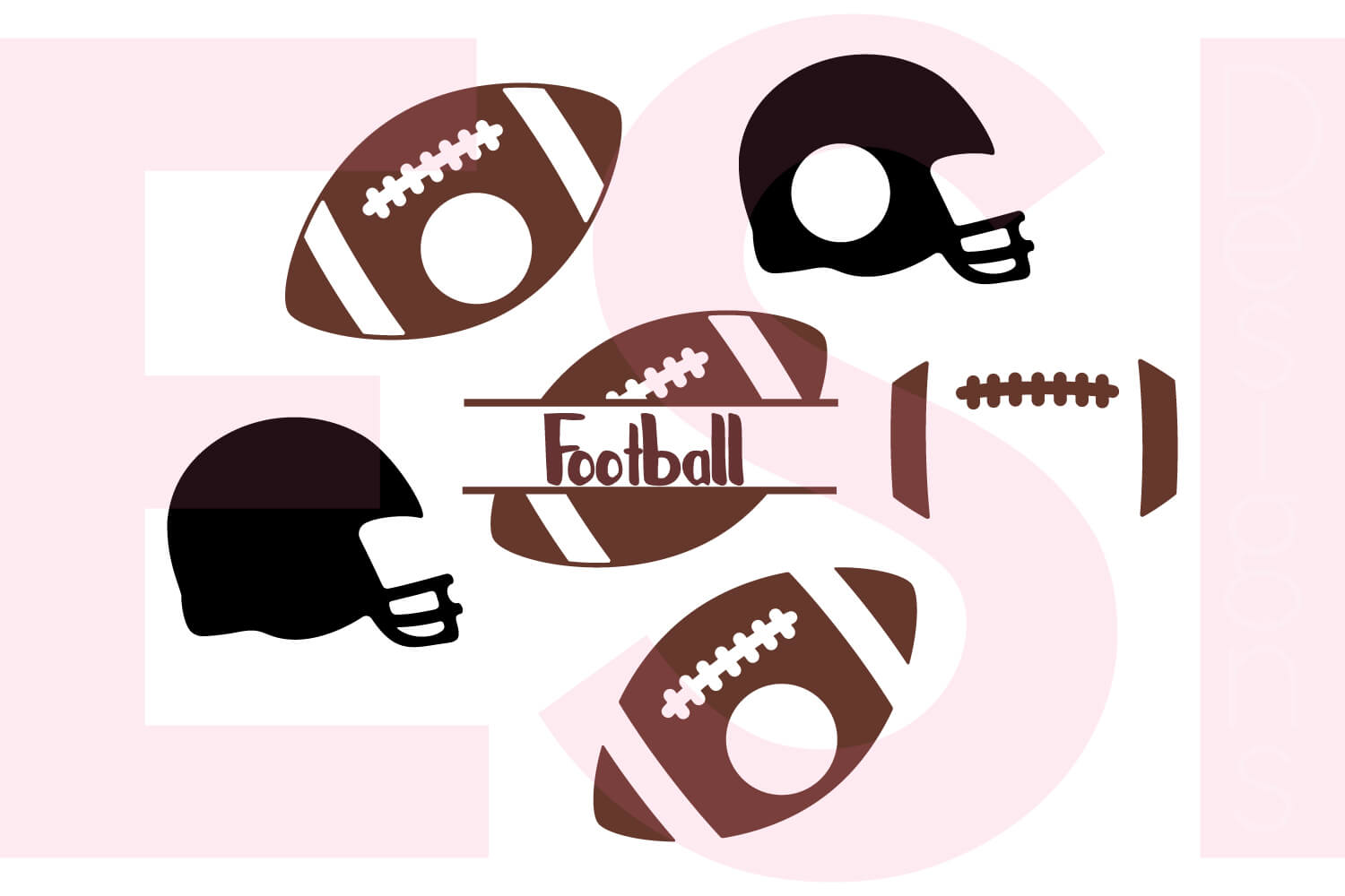Football-Monogram-designs-set-LC-DB