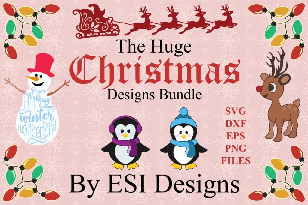 Free Svg Files New Christmas Designs Bundle Free Svg Dxf File Cut That Design