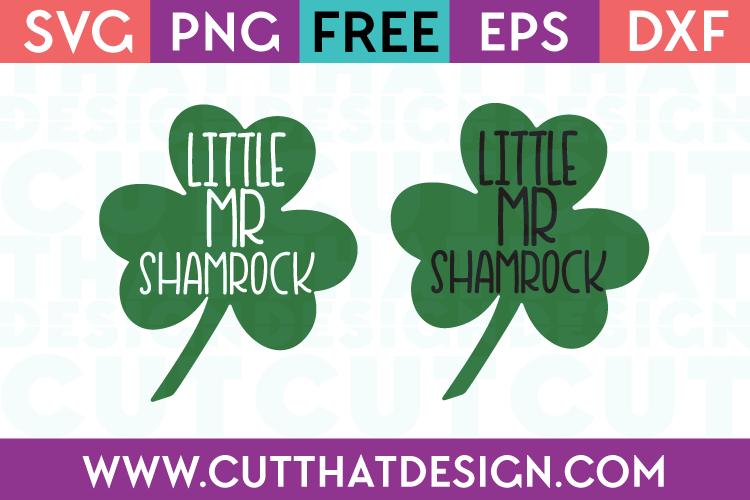 Free Little Mr Shamrock SVG File