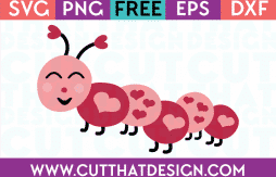 Free Love bug svg cutting file