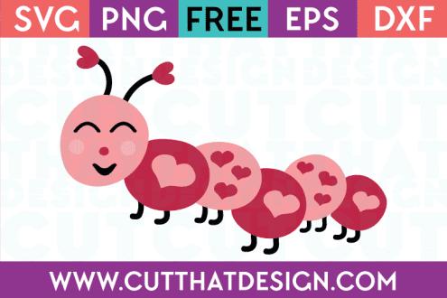 Free Love bug svg cutting file