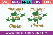 Free Mommy's Lucky Charm SVG File