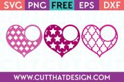 Free Valentine Monogram SVG