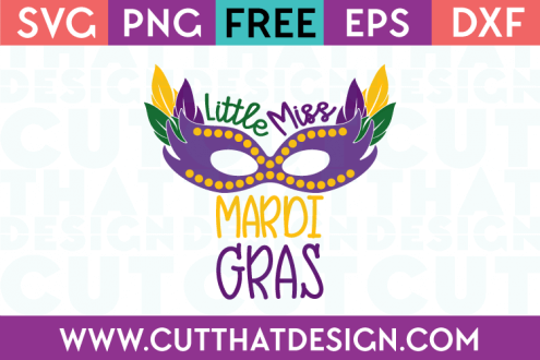 Mardi Gras Free SVG Cutting File