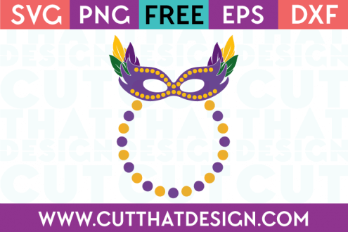 Free Mardi Gras SVG Files