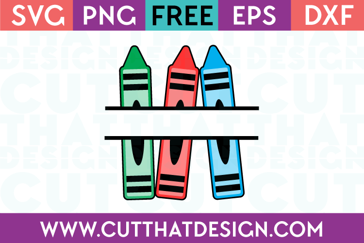 Free Crayon Monogram SVG File