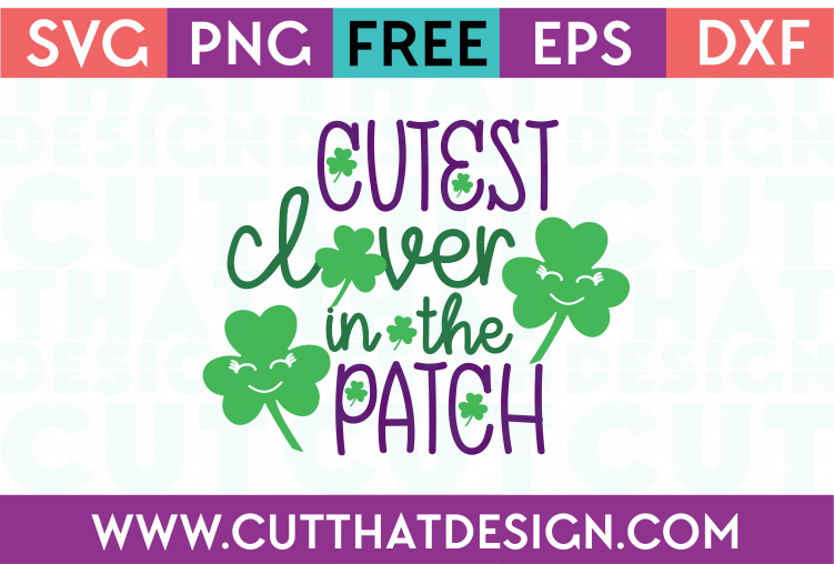 free st patrick's day svg cutting files