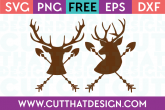 Deer Head Arrow Cutting Files Free