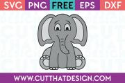 Free Baby Elephant SVG