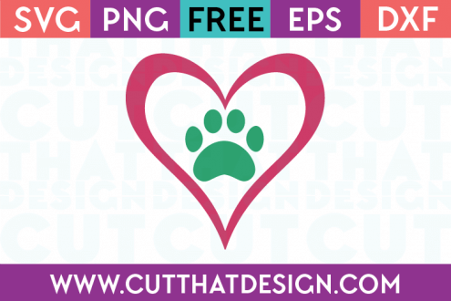 Free Paw Print SVG Files