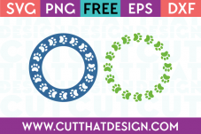SVG Cutting Files Site Monogram Frames