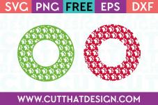 Circle Frames SVG Cutting Files Free
