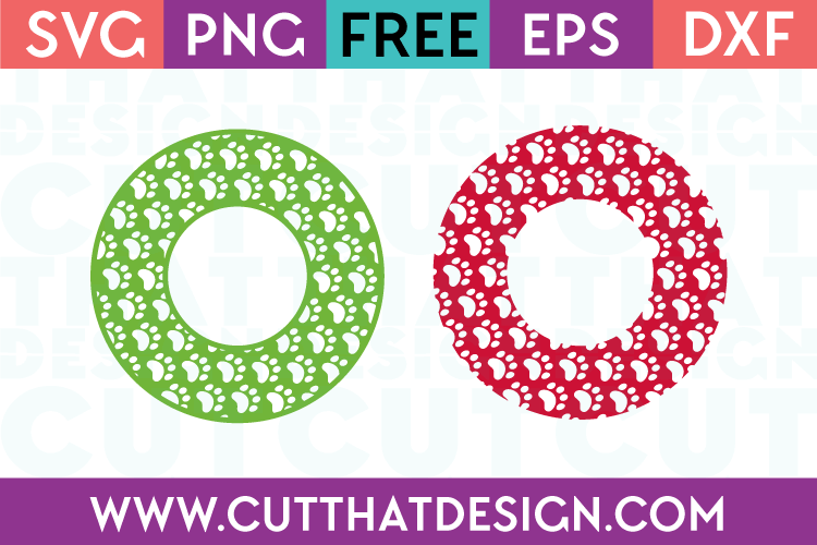Circle Frames SVG Cutting Files Free