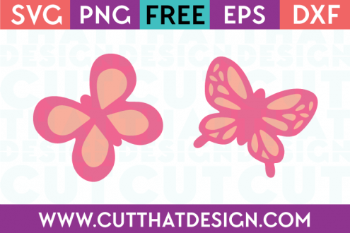 Free SVG Butterfly Designs