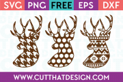 SVG Cutting Files Free Deer