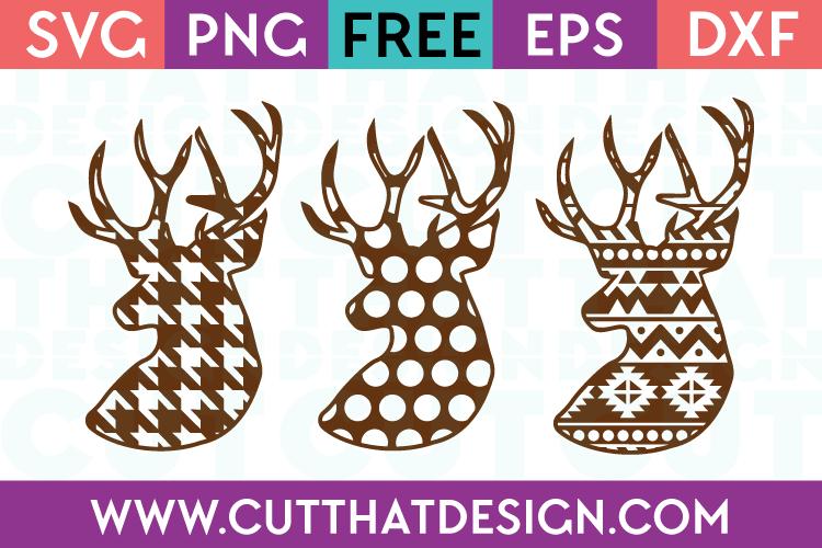SVG Cutting Files Free Deer
