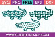 Free Crocodile SVG