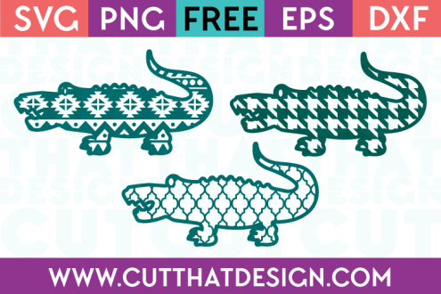 Free Crocodile SVG