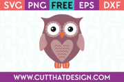 Free SVG Owl Cutting File Download